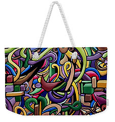 Party Life 2 Weekender Tote Bag