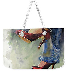 Party Shoes Weekender Tote Bag by Judith Levins