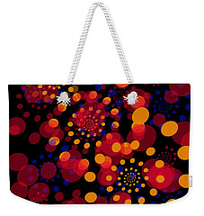 Party Time Abstract Painting Weekender Tote Bag