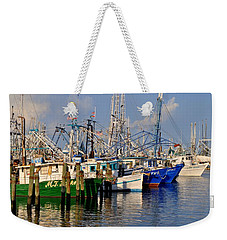 Pass Christian Harbor Weekender Tote Bag
