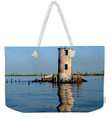 Pass Manchac Lighthouse Weekender Tote Bag