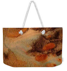 Weekender Tote Bag featuring the painting Passage by Mike Breau