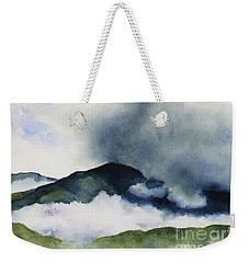 Passing Storm On Mt. Diablo Weekender Tote Bag