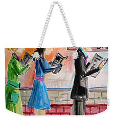 Passing The Time Weekender Tote Bag
