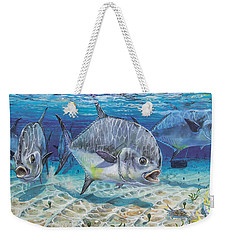 Passing Through In009 Weekender Tote Bag by Carey Chen