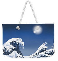 Passing Wave Weekender Tote Bag