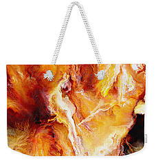 Passion - Abstract Art Weekender Tote Bag by Jaison Cianelli