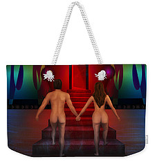 Passion Ascending Weekender Tote Bag by Rosa Cobos