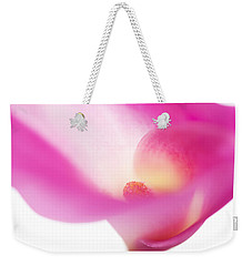 Passion For Flowers. Pink Veil Weekender Tote Bag