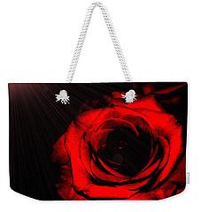 Passion. Red Rose Weekender Tote Bag
