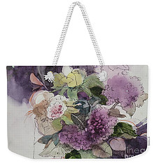 Passionate About Purple Weekender Tote Bag