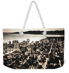 Weekender Tote Bag featuring the photograph Passionate English Bay. Mccclxxviii By Amyn Nasser by Amyn Nasser