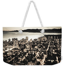 Passionate English Bay Mccclxxviii Weekender Tote Bag by Amyn Nasser