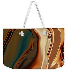 Weekender Tote Bag featuring the digital art Passionate Kiss by Rabi Khan