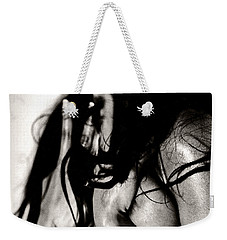 Weekender Tote Bag featuring the photograph Passionate African Nude Woman - Stone Town Editions by Amyn Nasser