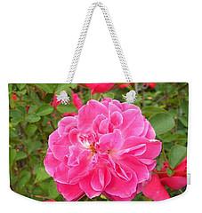 Passionate Pink Springtime Weekender Tote Bag
