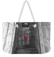 Past Emergency Weekender Tote Bag