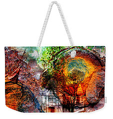 Past Or Future? Weekender Tote Bag by Ally  White