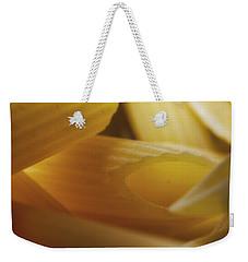 Pasta Macro Weekender Tote Bag