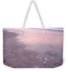 Weekender Tote Bag featuring the photograph Pastel Beach by Todd Blanchard
