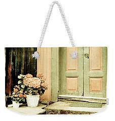 Pastel Colored Doorstep Weekender Tote Bag