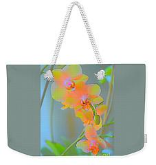 Pastel Orchids Weekender Tote Bag