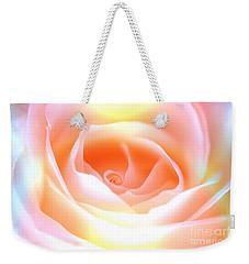 Pastel Rose Weekender Tote Bag