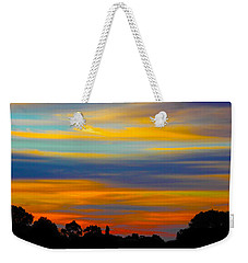 Weekender Tote Bag featuring the photograph Pastel Sunrise by Mark Blauhoefer