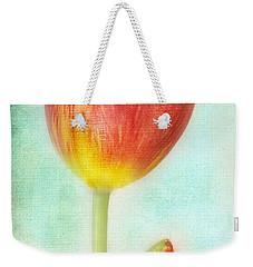 Pastel Tulip Weekender Tote Bag