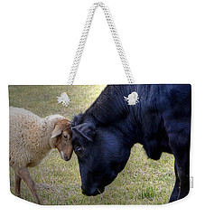 Pasture Pals Weekender Tote Bag by Charlotte Schafer
