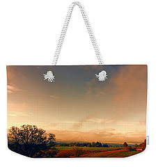 Pastureland Weekender Tote Bag by Don Schwartz