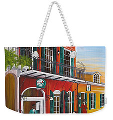 Pat O's Courtyard Entrance Weekender Tote Bag