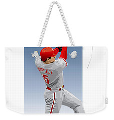 Pat The Bat Burrell Weekender Tote Bag