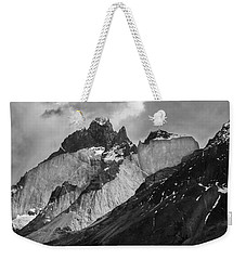 Patagonian Mountains Weekender Tote Bag