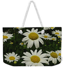 Patch Of Daisies Weekender Tote Bag by James C Thomas