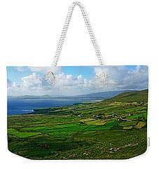 Patchwork Landscape Weekender Tote Bag