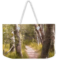 Weekender Tote Bag featuring the photograph Path 1 by Pamela Cooper