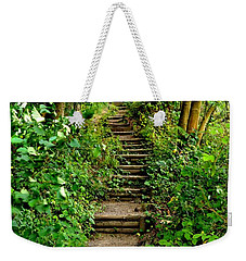Path Into The Forest Weekender Tote Bag