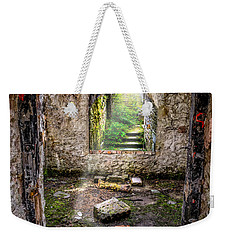 Weekender Tote Bag featuring the photograph Path Less Travelled by Adrian Evans