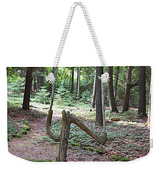 Path Of Choice Weekender Tote Bag
