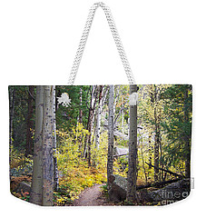 Path Of Peace Weekender Tote Bag