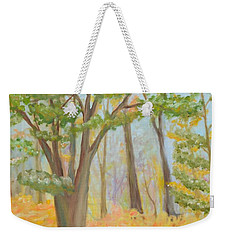 Path Of Trees Weekender Tote Bag