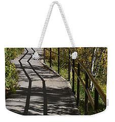 Path Shadow Weekender Tote Bag