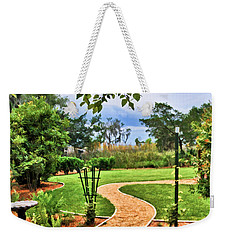 Garden Path To Wild Marsh Weekender Tote Bag
