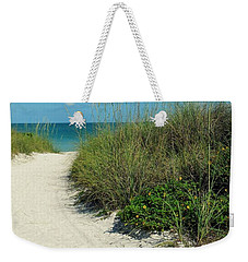 Path To Pass -a- Grille Weekender Tote Bag by Valerie Reeves