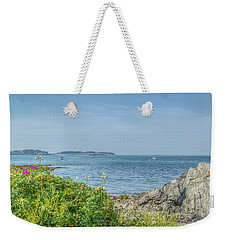 Weekender Tote Bag featuring the photograph Path To The Cove by Jane Luxton