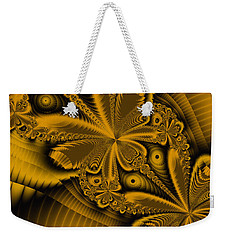 Weekender Tote Bag featuring the digital art Paths Of Possibility by Elizabeth McTaggart