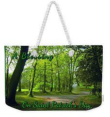 Pathway Saint Patrick's Day Greeting Weekender Tote Bag