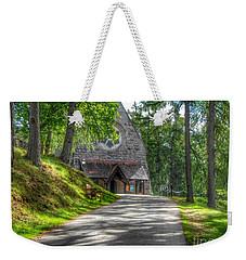Pathway To Crathie Church Weekender Tote Bag