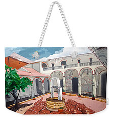Patio Colonial Weekender Tote Bag
